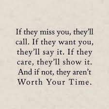 if they miss you