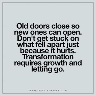 old doors close